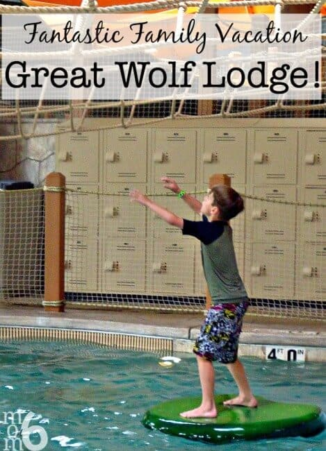 A great idea for an overnight getaway during Spring Break is the indoor water park at the Great Wolf Lodge! And I've got a few tips to share on how to save a little money during your visit!