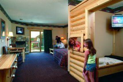 room for large families at Great Wolf Lodge