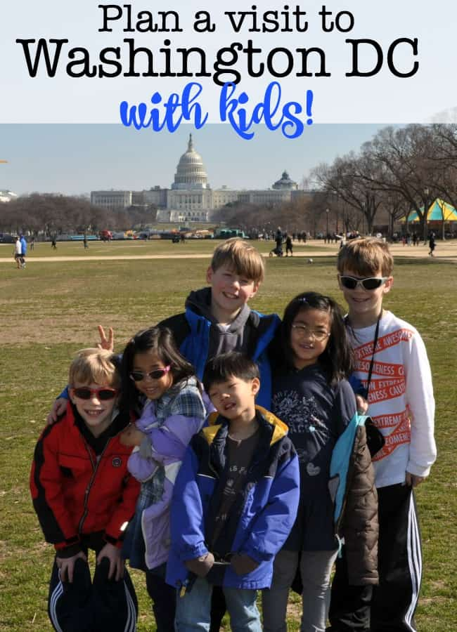 Washington DC is a fantastic vacation destination! The kids will be entertained, they will head home having learned something, and you'll walk away with a new appreciation of the beauty and the majesty that is our Nation's Capital.There are so many great things to see and do! Here are a few ideas to get you started on planning a family road trip to Washington DC with kids!