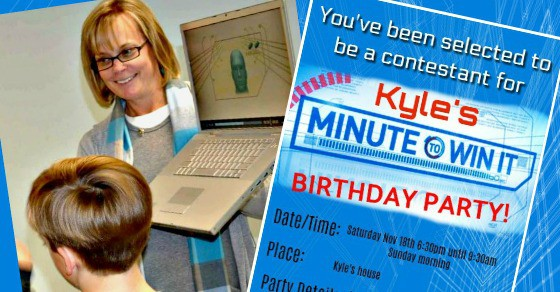 """How to Throw Your Own """"Minute to Win It"""" Birthday Party!"""