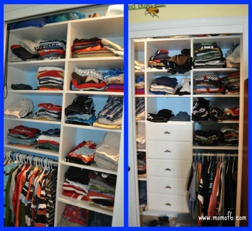 Superbe How To Organize Your Kids Closet AND How Two Kids Can Share One ...