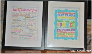 The 10 Best Free Summer Subway Art Printables!