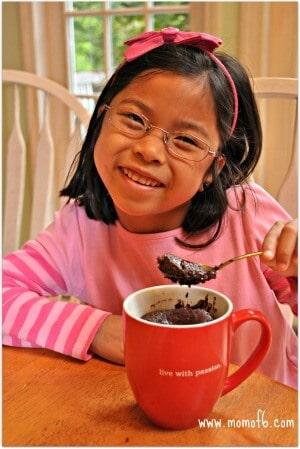 Chocolate Mug Cake Lili1
