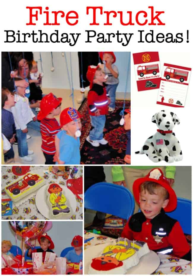 What young boy doesn't want to grow up and someday become a fireman? Which is why a fire truck birthday party is such a great idea! Here's how to throw an awesome firefighter party!