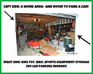 """The Great Garage Clean Out Challenge: Developing a """"Plan of Attack"""""""