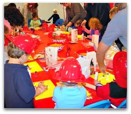 Great 3 Year Old Birthday Party Idea A Firefighters Party