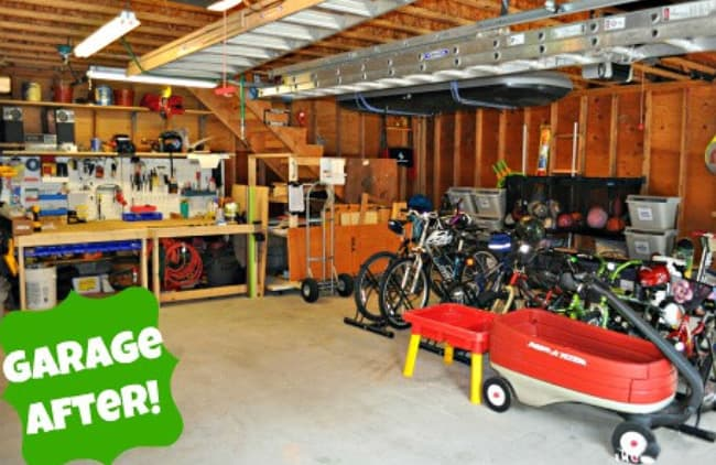 garage decluttering ideas