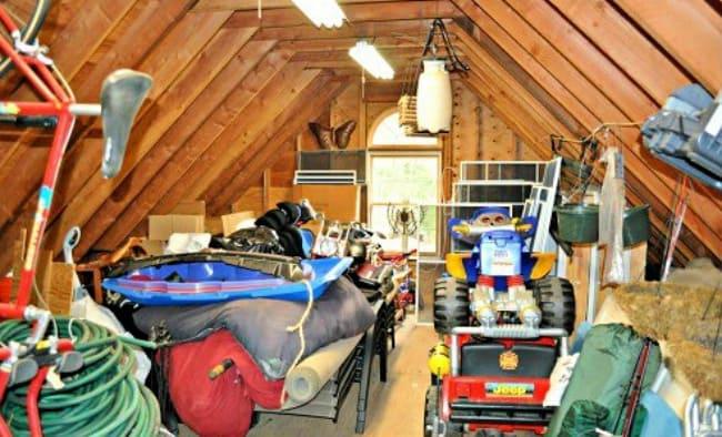 garage declutter