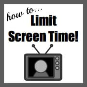 "Summer Parenting Challenge… How to Limit ""Screen Time"""