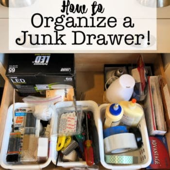 How to Organize A Junk Drawer!