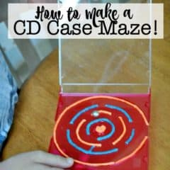 Great Kids Craft: CD Case Mazes!