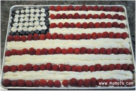 Best EVER Flag Cake!