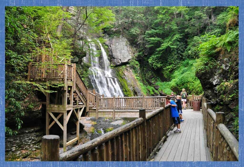 3 Hiking At Bushkill Falls PA On My Birthday