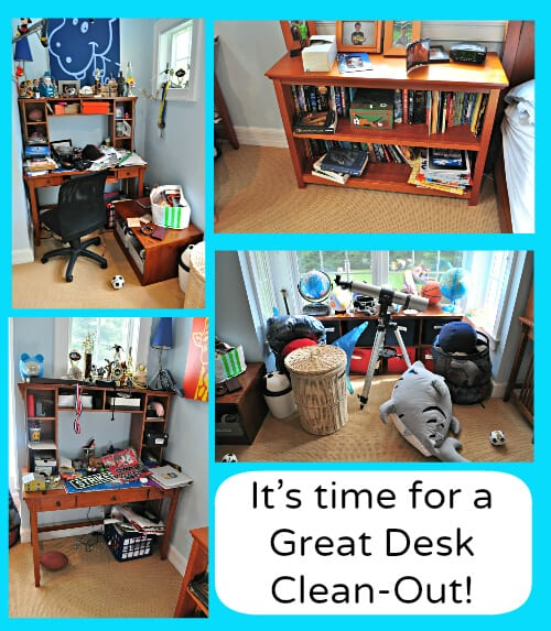It's time for a great desk clean out