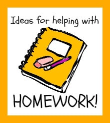 Ideas for Homework Help….