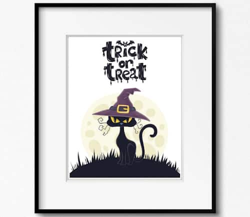 free printable Halloween art