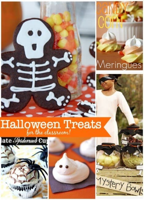 Here are a few ideas for halloween treats for the classroom to help you plan that class party!