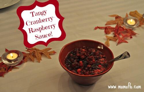 cranberry raspberry sauce