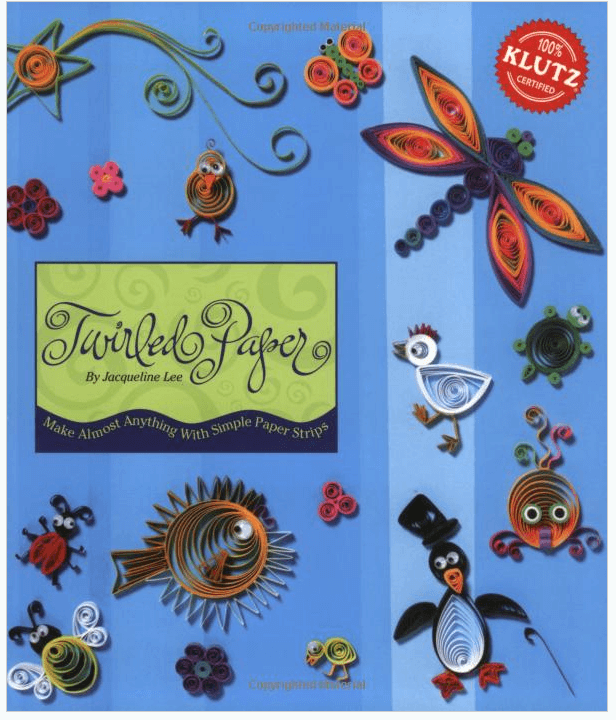 Paper Quilling Book Cover : Paper quilling book momof