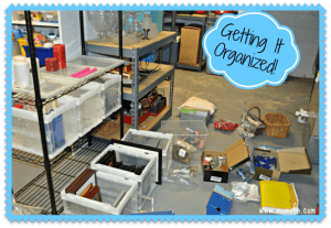 New Year's Resolution…. Organize My Home Decorating Supplies!