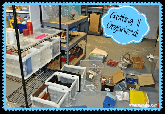 Home Decor Organization-Getting It Organized