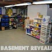 Declutter your Life: The Big Basement Challenge… and REVEAL!