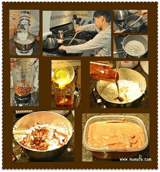 Preparing the Chocolate Mousse