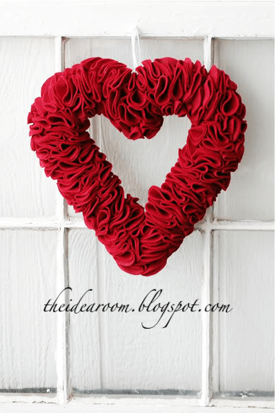 Valentine's Wreath | The Idea Room