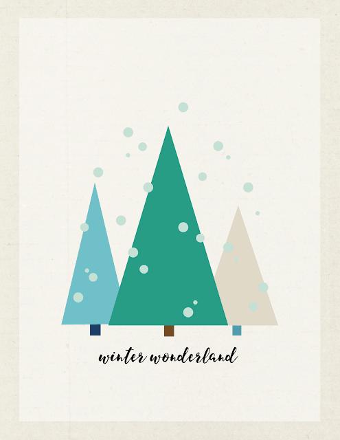free winter wonderland art