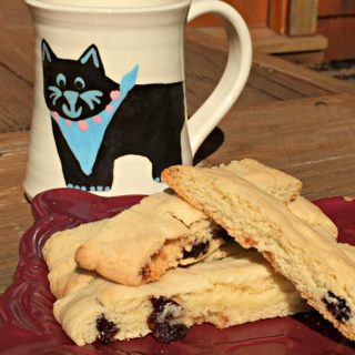 Homemade Chewy Dried Cherry Biscotti Recipe