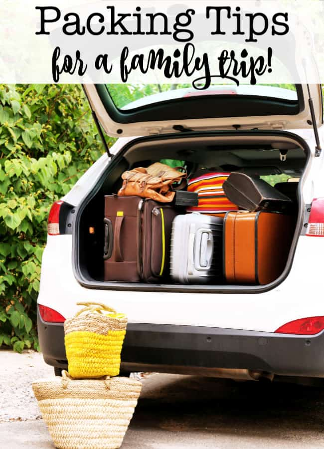 Do you hate rummaging through bags trying to find that pair of shorts or socks that you know you packed? If you pack the right way- it is so much easier to be organized! Here are my best packing tips for a family trip!