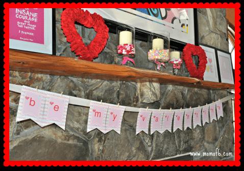 Valentine's Day Decor- FR Banner