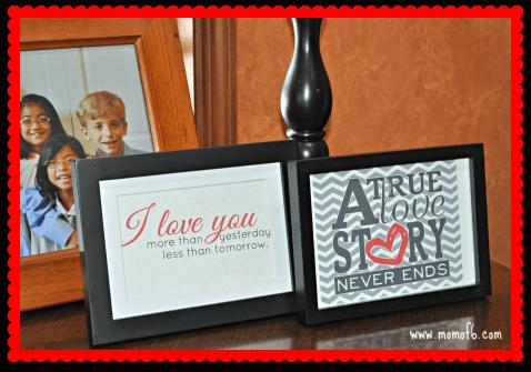Valentine's Day Decor- Family Room 4