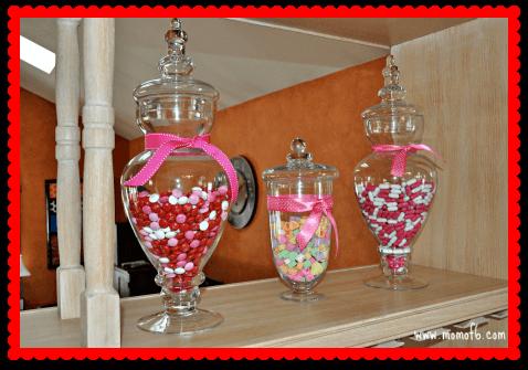 Valentine's Day Decor- Kitchen Candy