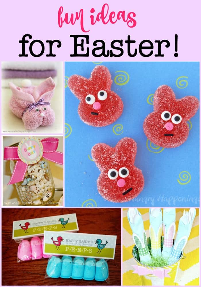 Here are a few ideas for you to help make your Easter celebration fun for your family!