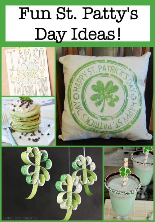 If you are looking for some ways to make St. Patrick's Day festive for your family- here are a few fun St. Patty's Day ideas that your kids are sure to love!