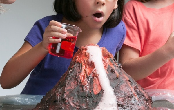 volcano for the science fair