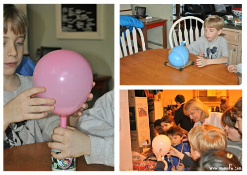 Science fair Project- Gas Powered Balloon