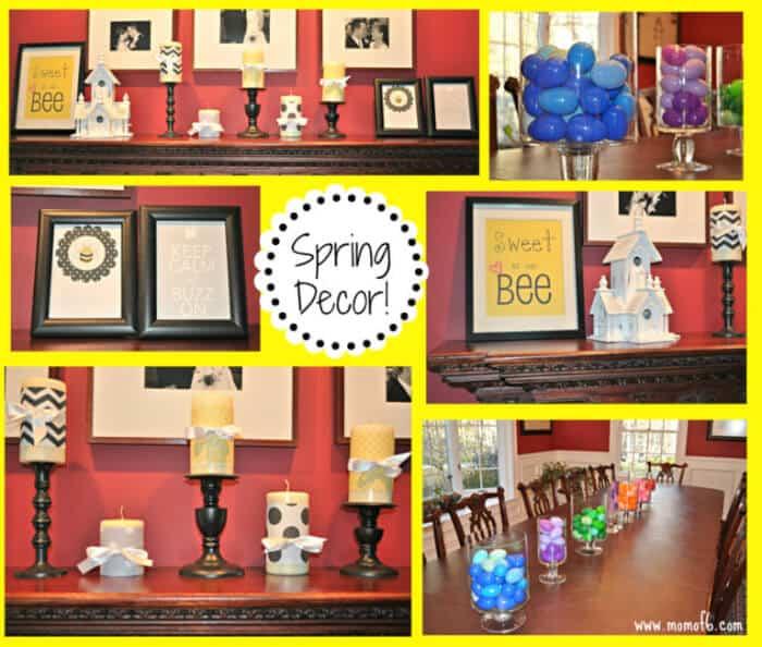 Spring Decor- Dining Room