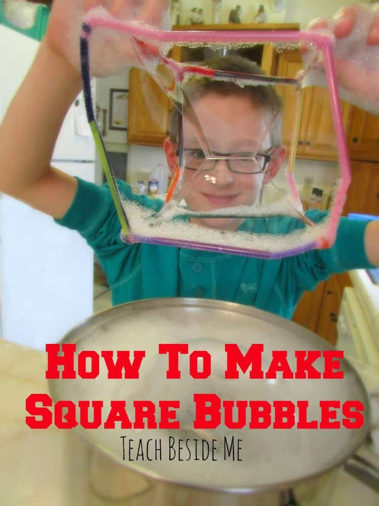 square bubbles science experiment