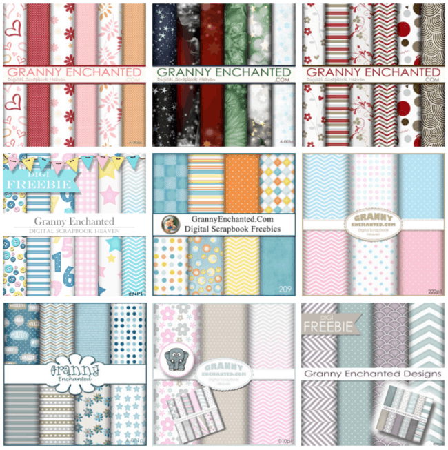 As part of our series on Digital Scrapbooking, here's a list of my favorite sites to find free digital scrapbook paper to use in your page layouts!