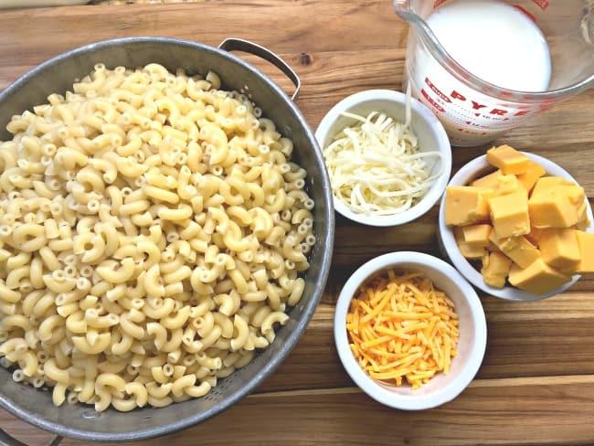 mac & cheese casserole ingredients