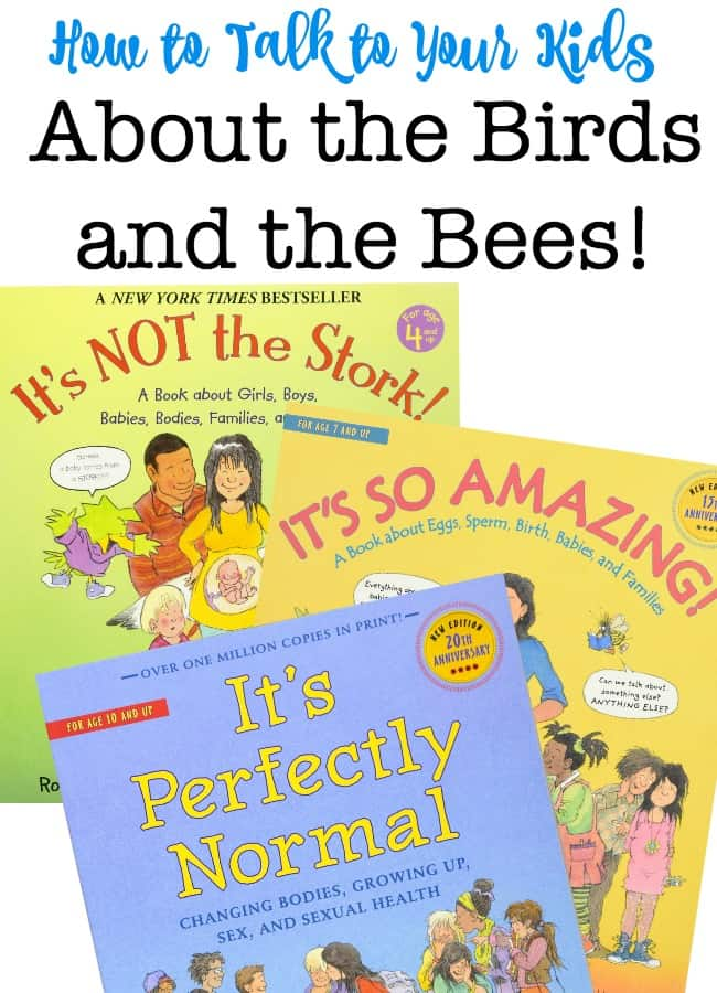 "How DO you have the birds and bees talk with your kids, where babies come from, explain why boys' private parts are different from girls', and everything else that goes along with the ""birds and bees"" discussion? The day is going to come when they want to learn more!"