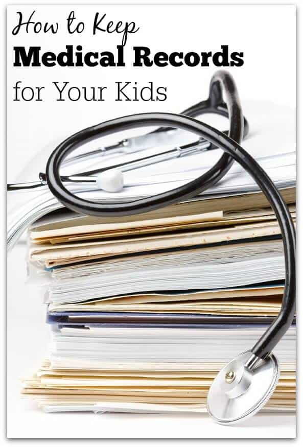 I've developed a system on how to keep medical records for kids that works well for me, and it's a great thing to do using my favorite app- Evernote!