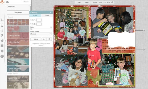 In this post, you'll learn how to add text to your digital scrapbook layouts, how to personalize the text if you are creating individual scrapbooks for each of your children, and how to swap out pictures on a scrapbook page so as to make each child's page unique. Part of our series on how to create digital scrapbooks using PicMonkey!