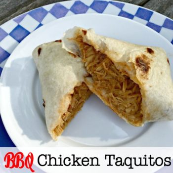 I came up with this recipe for BBQ Chicken Taquitos- and they're so simple and so easy to make, and they make for a great weeknight dinner!