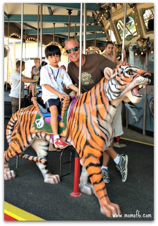 Cedar Point- carousel