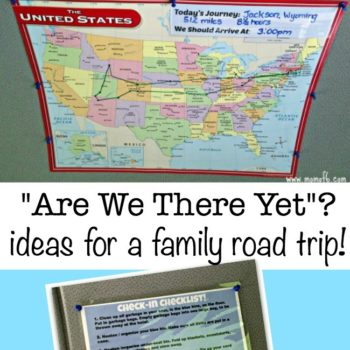 Are We There Yet? {Tracking Your Family Road Trip}