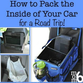 Packing for a Road Trip- How to Pack the Inside of Your Car!
