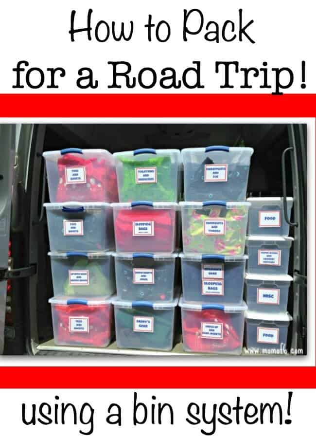 How To Pack For A Road Trip Momof6